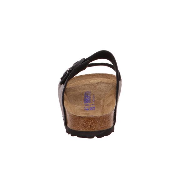 Birkenstock Herren Arizona 551253 Schwarze Synthetik Pantolette