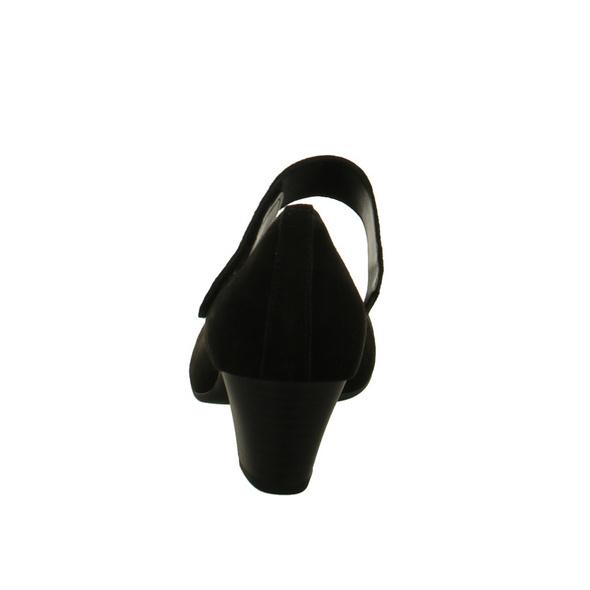 Gabor Damen 85-485-37 Schwarze Nubukleder Pumps
