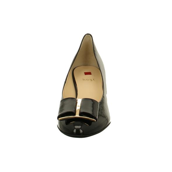 Högl Damen 5-104084-0100 Schwarze Lackleder Pumps