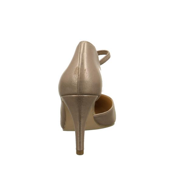 Caprice Damen 24402/545 Roségoldene Perlatoleder Pumps