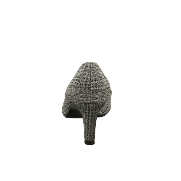 Peter Kaiser Damen 69491-601 Silberne Textil Pumps