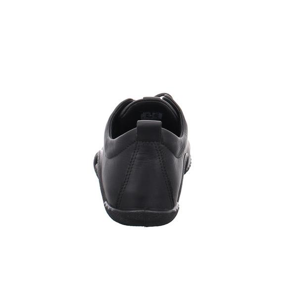 Ecco Damen Offroad Schwarze Leder/Textil Sandale