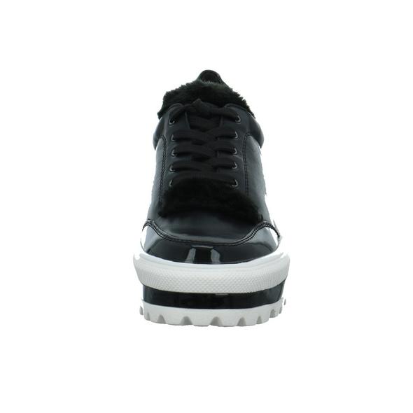 Tizian Damen Seattle 05 Schwarzer Leder Sneaker