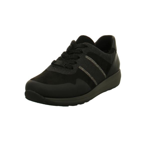 Ara Damen Osaka Schwarze Synthetik Sneaker