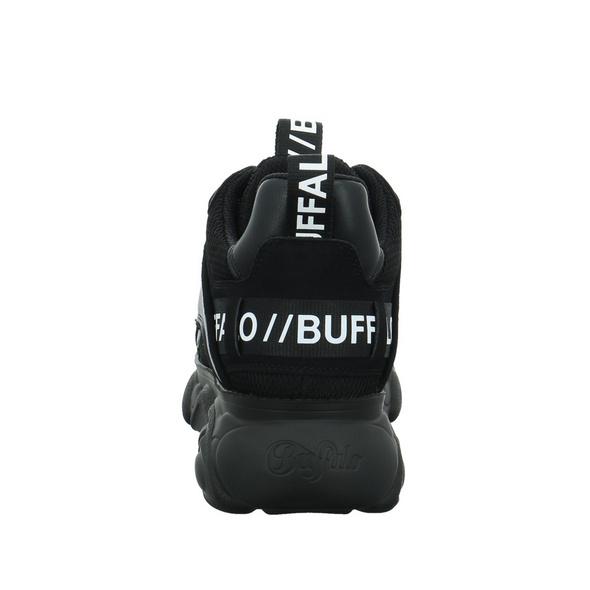 Buffalo Damen CLD Chai Schwarzer Synthetik/Textil Sneaker