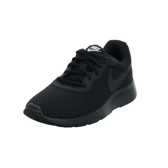 Nike Damen Tanjun schwarzer Mesh Sneaker