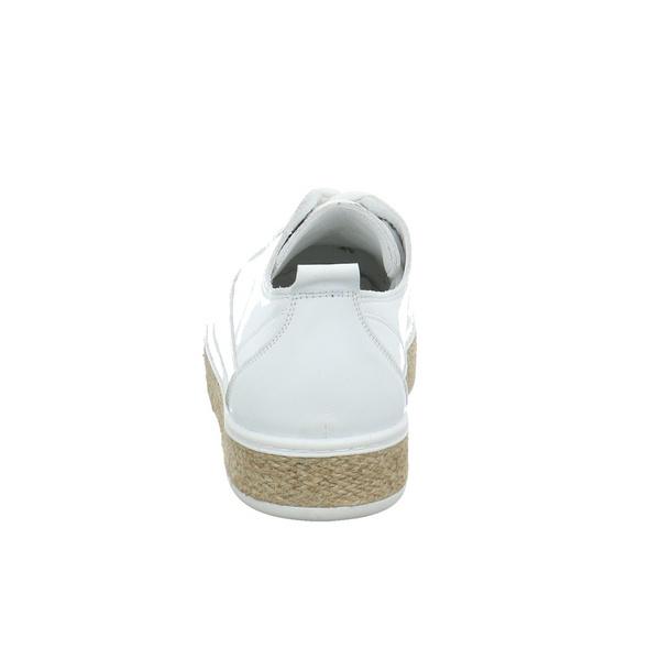 Andrea Conti Damen 0011701-001 weißer Glattleder Schnürschuh