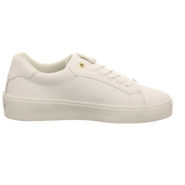 Gant Damen Lagalilly Weißer Glattleder Sneaker