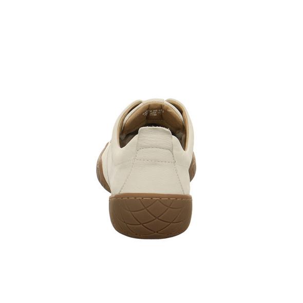 Camel active Damen Inspiration Weißer Glattleder Sneaker