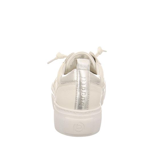 Bugatti Damen Infinity Weiße Glattleder Sneaker