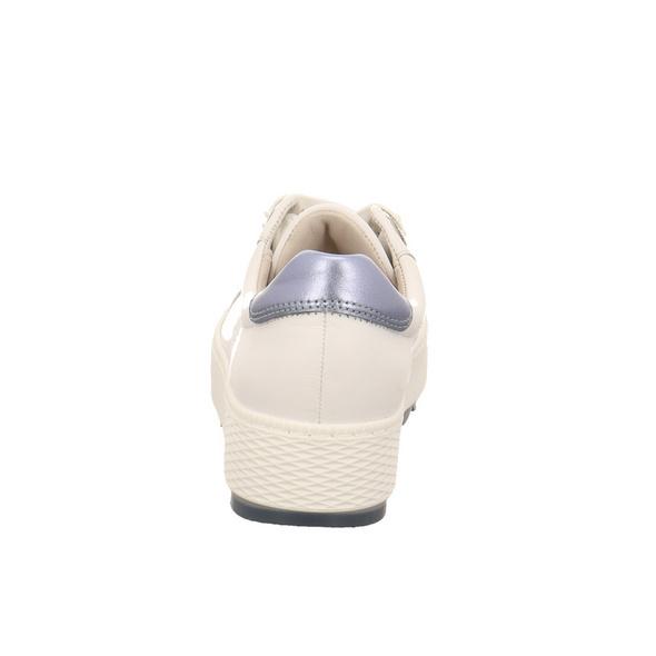 Gabor comfort Damen 46-535-50 Weiße Glattleder Sneaker