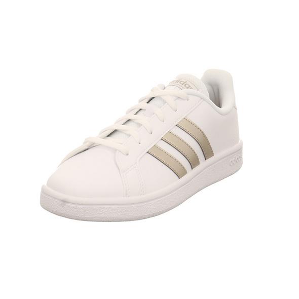 Adidas Damen Grand Court Base Weißer Synthetik Sneaker