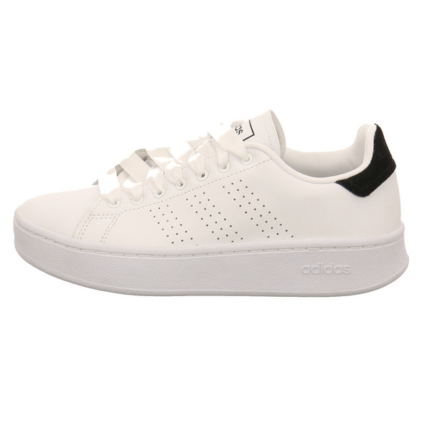 Adidas Damen Advantage Bold Weißer Synthetik Sneaker