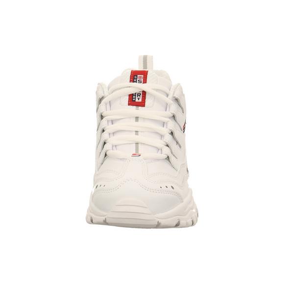 Skechers Damen Energy Timeless Visi Weiße Synthetik Sneaker
