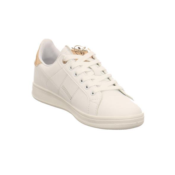 Chiemsee Damen 195003C 19 Weißer Synthetik Sneaker