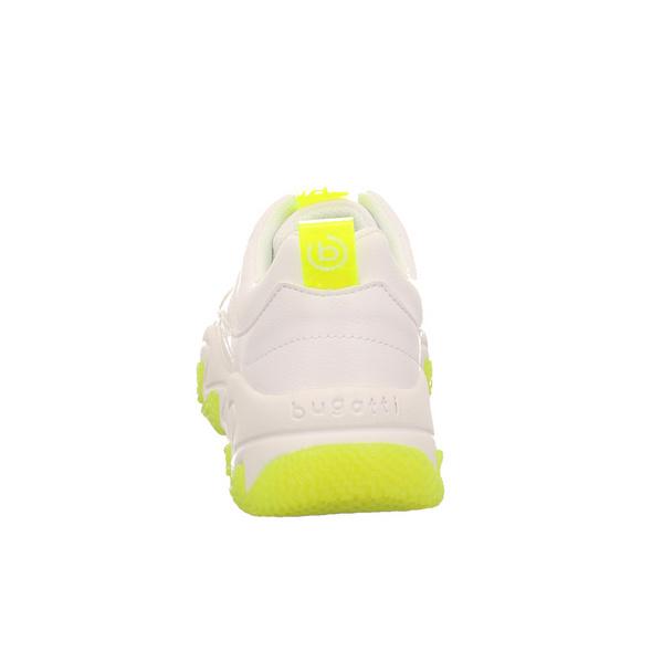 Bugatti Damen Ceyda Weiße Synthetik Sneaker