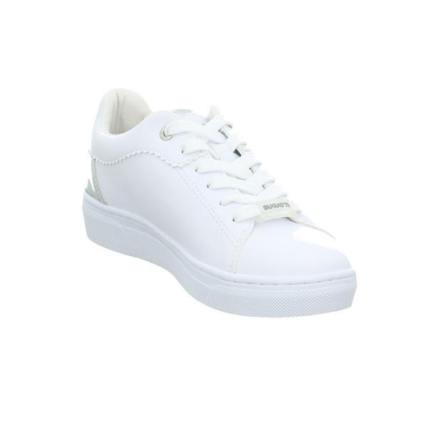 Bugatti Damen Elea Weiße Synthetik Sneaker