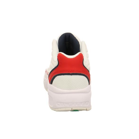 Tommy Hilfiger Damen WMN Heritage Weißer Synthetik/Textil Sneaker