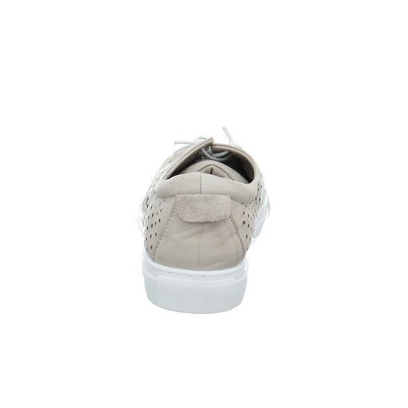 Andrea Conti Damen 0347851-111 Grauer Glattleder Sneaker