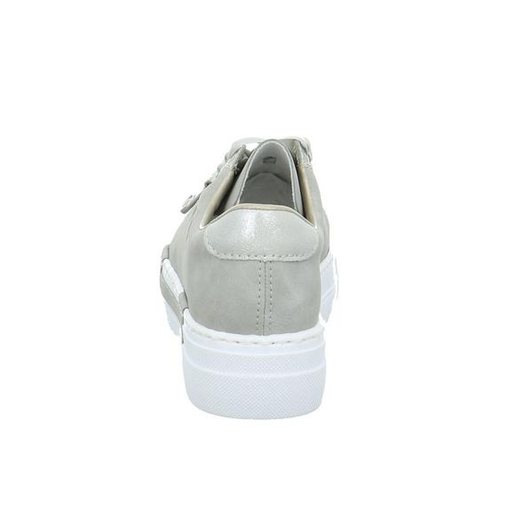Rieker Damen N49C2-40 Graue Synthetik Sneaker