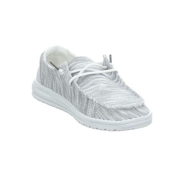 Hey Dude Damen Wendy Sox Grauer Textil Sneaker