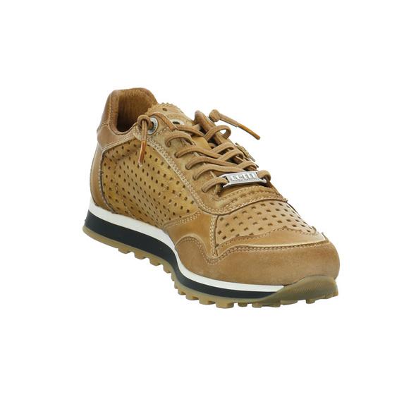 Cetti Damen C-848SRACUERO Brauner Leder Sneaker