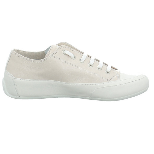 Candice Cooper Damen Rock 01E Beigefarbener Glattleder Sneaker