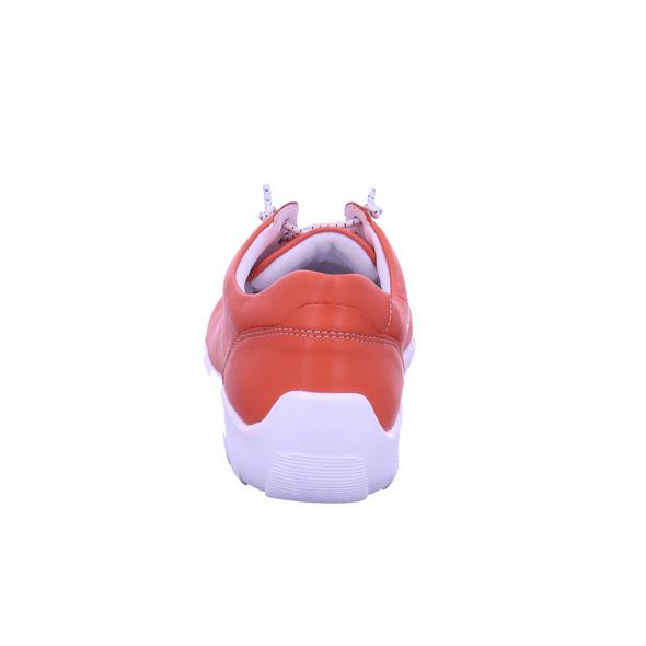 Remonte Damen R3515-33 Rote Glattleder Schnürschuhe