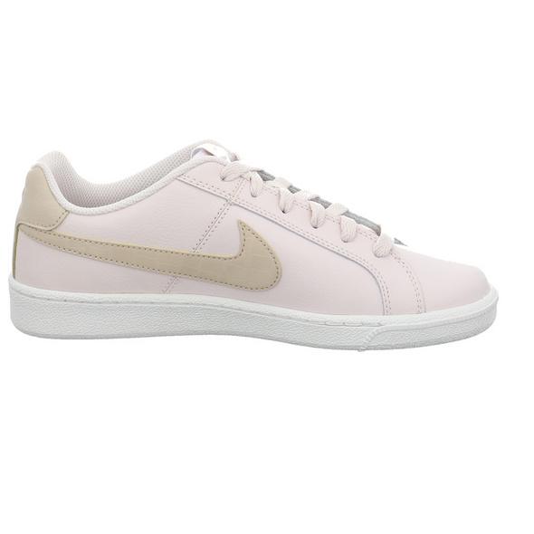 Nike Damen WMNS Nike Court Royal Rosefarbener Leder/Synthetik Sneaker
