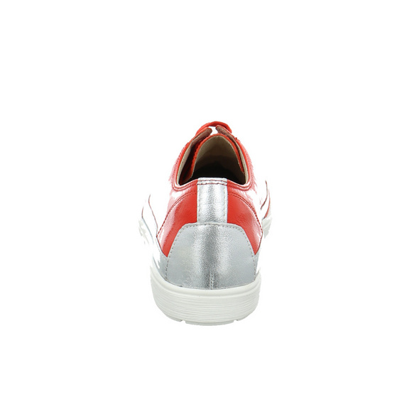 Caprice Damen 23654-555 Roter Lackleder Schnürschuh