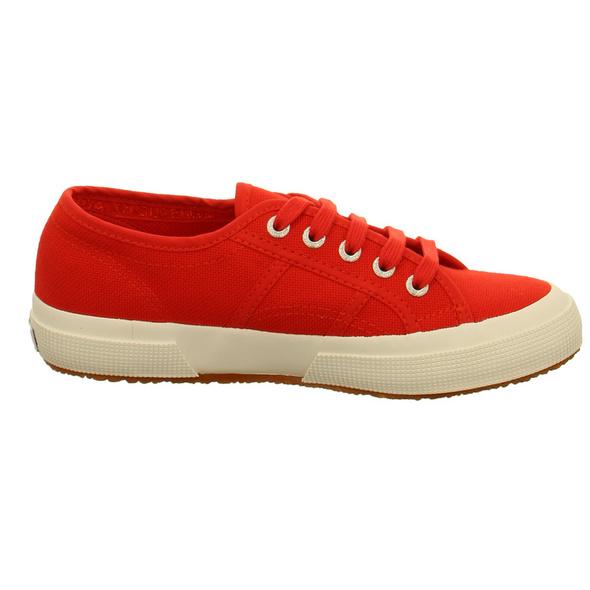Superga Damen Cotu Classic S000010 Rote Textil Sneaker