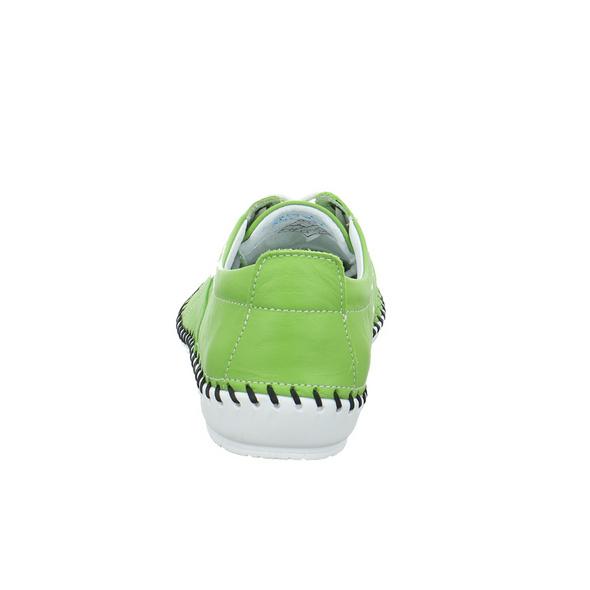 Krisbut Damen 2412-1-1 Grüne Glattleder Sneaker