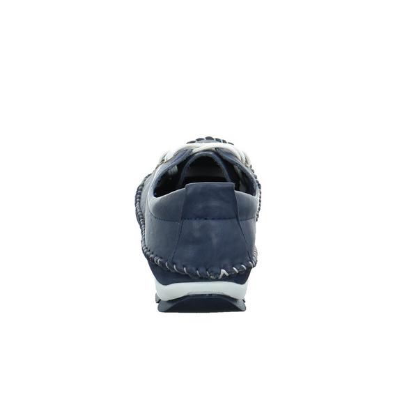 Gemini Damen 311278-01-802 Blaue Glattleder Schnürschuh