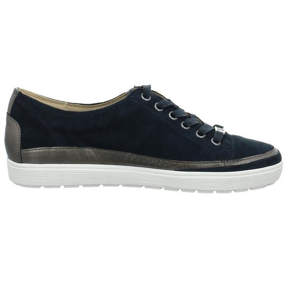 Caprice Damen 23654-880 Blauer Materialkominierter Sneaker
