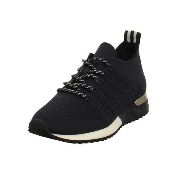 La Strada Damen 1802649 Blaue Textil Sneaker