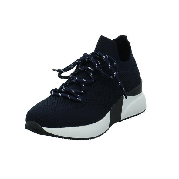 La Strada Damen 1901762-4560 Blaue Textil Sneaker