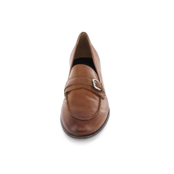 Paul Green Damen 2593-018 Brauner Glattleder Slipper