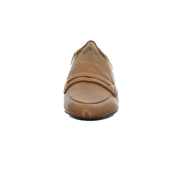 Gerry Weber Damen G63201-90-370 Brauner Glattleder Slipper
