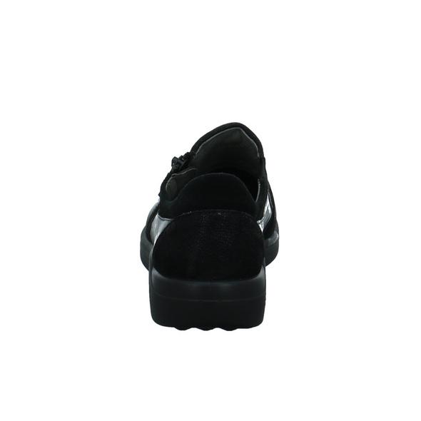 Romika Damen Madera 30 Schwarzer Leder/textil Slipper