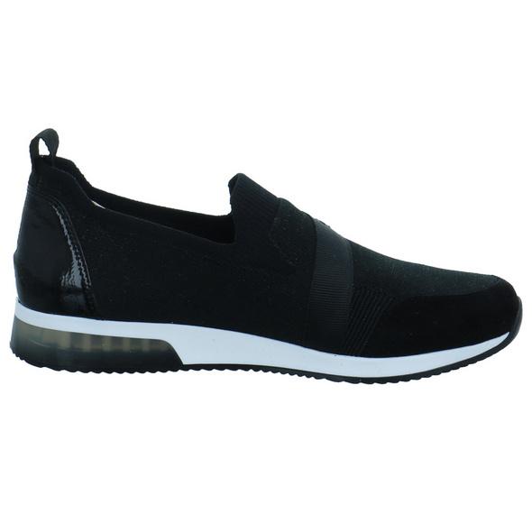 Ara Damen Lissabon 2.0 Fushion Schwarze Mesh Slip on Sneaker