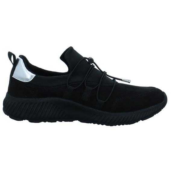 S.Oliver Damen 23682-001 Schwarzer Synthetik/Textil Sneaker