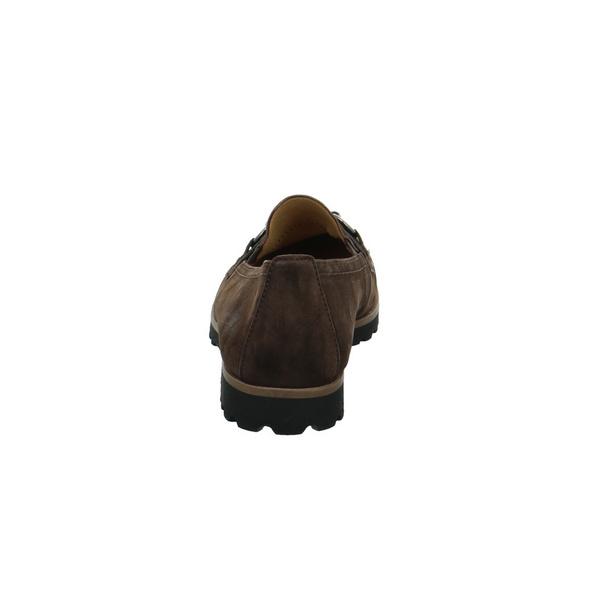 Gabor Damen 55-242-18 Brauner Velourleder Slipper