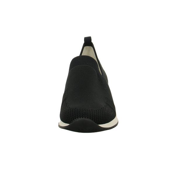 Ara Damen Lissabon-Fusion4 Blaue Mesh Slip on Sneaker