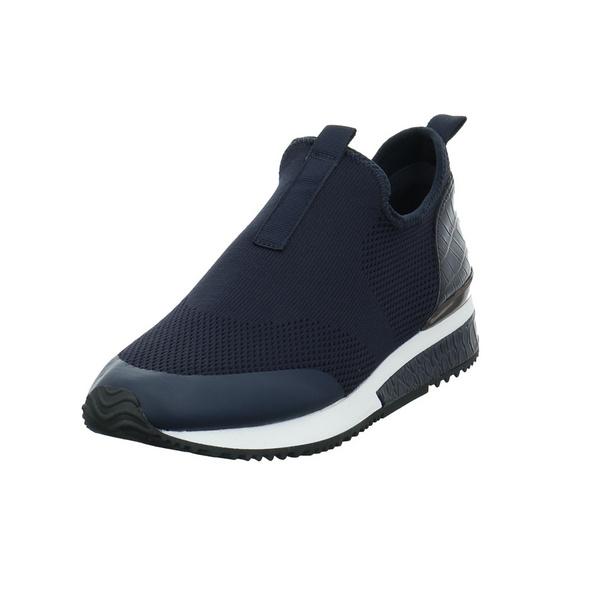 La Strada Damen 1904954-4560 Blauer Synthetik/Textil Slipper