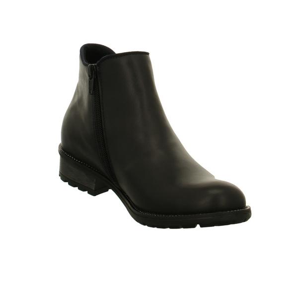 Remonte Damen R3315-03 Schwarze Glattleder Chelsea Boots