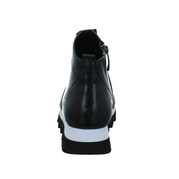 Tizian Damen Phoenix 03 Schwarze Leder/Textil Stiefelette
