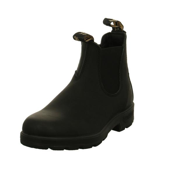 Blundstone Damen 510 Schwarze Glattleder Chelsea Boots