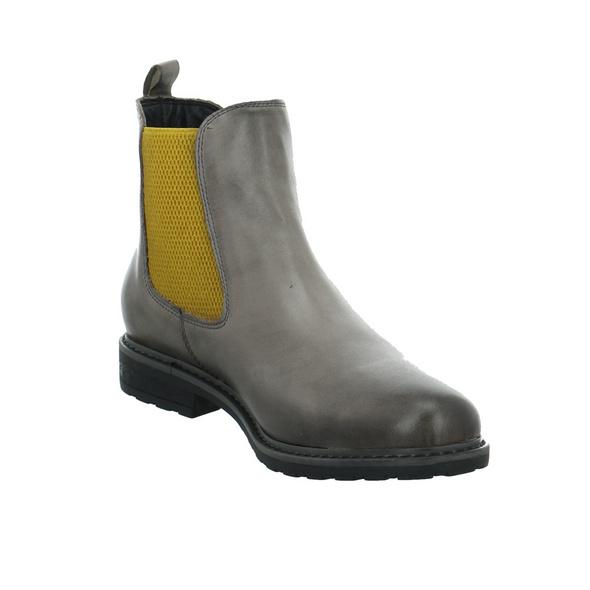 Tamaris Damen 25056-299 Grauer Leder/Textil Chelsea Boot
