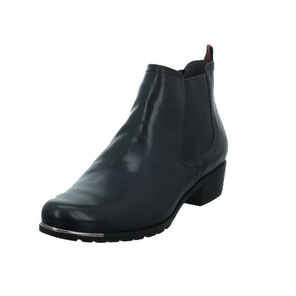 Caprice Damen 25313-213 Grauer Glattleder Chelsea Boot