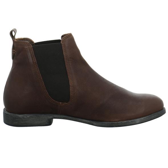 Think! Damen Agrat Brauner Leder/textil Boot